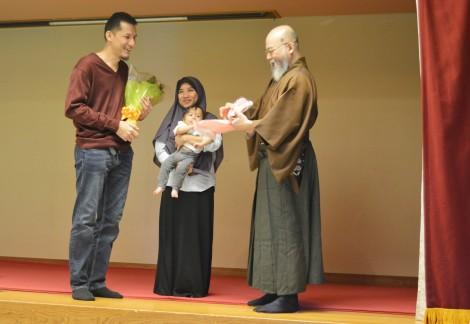 Foto bersama Kitami Sensei dan Zaphir Sensei di Yumeiho World Meeting 2017.